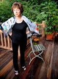 Mayor femenino maduro Foto de archivo libre de regalías
