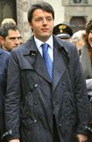 Matteo Renzi in Florence prime minister of Italy Royalty Free Stock Photography