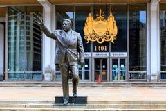 Mayor Frank Rizzo statua zdjęcie royalty free