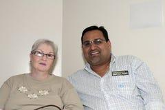 Mayor of Guanica Puerto and family of Yomo Toro Royalty Free Stock Photo