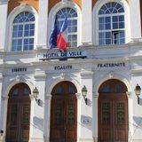 Mayor, hall, Mairie Stock Photo