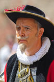 Mayor in historical clothes Stock Images