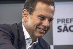 Mayor Joao Doria Royalty Free Stock Photos