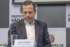 Mayor Joao Doria Stock Photos