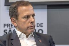 Mayor Joao Doria Stock Image