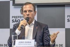 Mayor Joao Doria Royalty Free Stock Photography