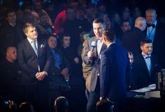 Mayor of Kyiv city and former heavyweight champion Vitali Klitsc Stock Photography