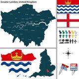 Mayor Londres, Reino Unido Imagen de archivo libre de regalías