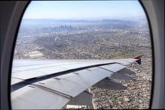 Mayor Los Angeles-area del aire Imagen de archivo