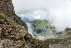 Mayor montaña de Caucausus Foto de archivo