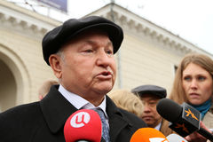 Mayor of Moscow Jury Luzhkov Stock Images