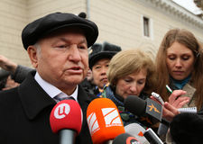 Mayor of Moscow Jury Luzhkov Royalty Free Stock Photo