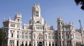 Mayor Palace in madrid Royalty Free Stock Image