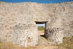 Mayor pared de Zimbabwe Fotografía de archivo libre de regalías