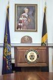 Mayor of Pittsburgh Podium Royalty Free Stock Image