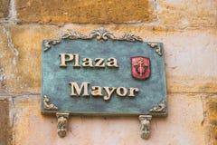 Mayor Square Royalty Free Stock Photos