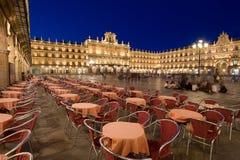 Mayor square, Salamanca Stock Images