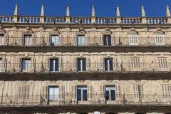 Mayor square, Salamanca Stock Photos