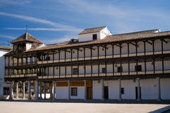 Mayor Square from Tembleque, Spain Stock Photos