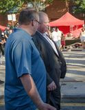 Mayor of Toronto Rob Ford visits Salsa on St. Clair Stock Images