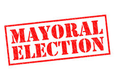 MAYORAL ELECTION Royalty Free Stock Images
