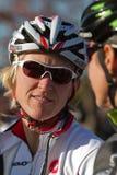 Mayordomo de Sue - ciclista profesional Foto de archivo libre de regalías