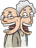 Mayores felices Foto de archivo