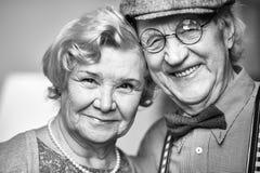 Mayores felices Imagen de archivo libre de regalías