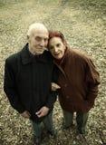 Mayores Love Story Imagen de archivo libre de regalías