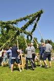 Maypole świętowanie Zdjęcie Stock