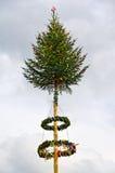 Maypole adornado foto de archivo libre de regalías