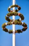 Maypole bávaro Foto de Stock