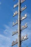 Maypole in Munich, Bavaria Stock Photo