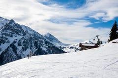 Mayrhofen, Áustria Fotografia de Stock Royalty Free