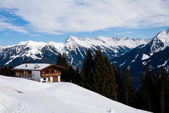 Mayrhofen, Áustria Fotografia de Stock