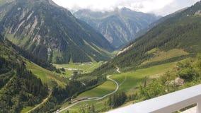 Mayrhofen Австрия июль 2015 Стоковая Фотография RF