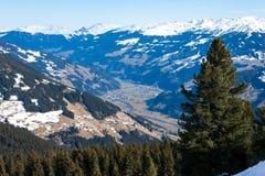 Mayrhofen, Austria Immagine Stock
