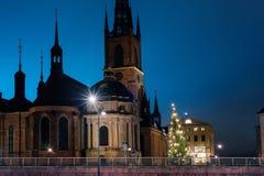 Mayrhofen, Austria, chiesa Pignellen Immagini Stock Libere da Diritti