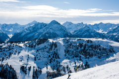 Mayrhofen, Austria Royalty Free Stock Photography