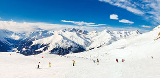 Mayrhofen, Autriche Photos libres de droits