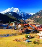 Mayrhofen, Oostenrijk Royalty-vrije Stock Foto