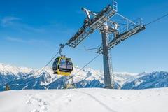 Mayrhofen ski resort, Austria Stock Image