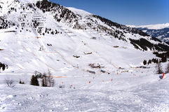 Mayrhofen ski resort Stock Photography
