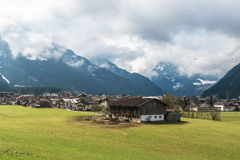 Mayrhofen in the Ziller Valley in Austria Royalty Free Stock Photography