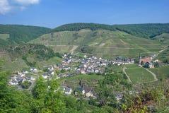 Mayschoss Ahr dal, Tyskland Arkivbilder