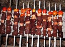 mayskiy september för kebab shish 2007 uzbekistan Royaltyfria Foton