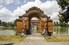 Mayura Wasserpalast, Mataram, Lombok, Indonesien Lizenzfreie Stockfotografie