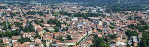 Mazamet (France), panoramic view Royalty Free Stock Images