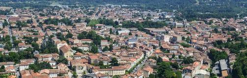 Mazamet (France), panoramic view Royalty Free Stock Images