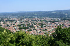 Mazamet (France), panoramic view Royalty Free Stock Photo